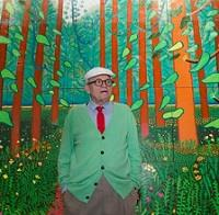 Hockney says hearing loss helped his painting